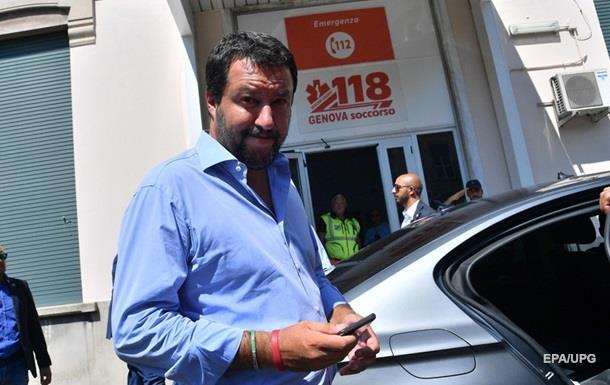 Проти голови МВС Італії почали розслідування