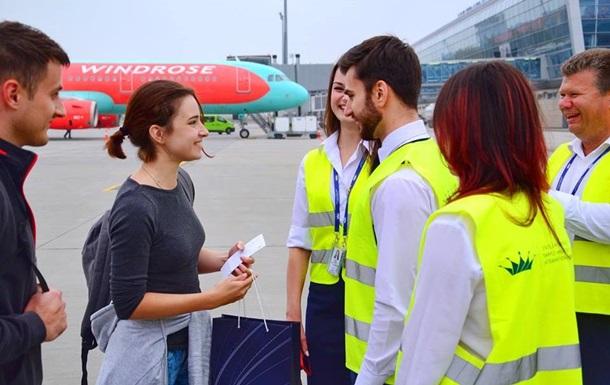 Аэропорт Львов принял миллионного пассажира с начала года