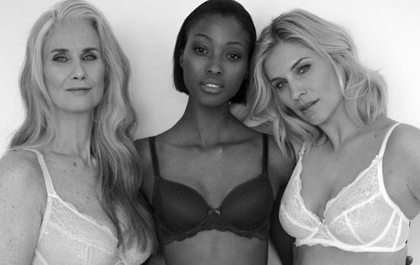 Магазин білизни відмовився від ретуші тіл моделей