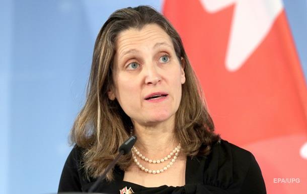 Руководитель МИД Канады отменила визит вУкраинское государство