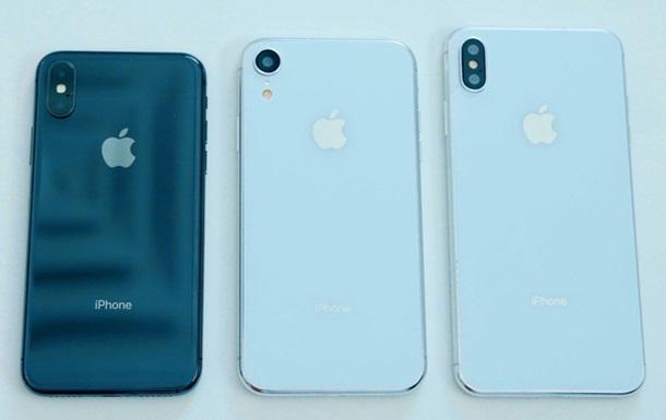 У Мережі з явилися характеристики всіх iPhone 2018