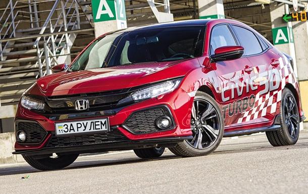 Тест-драйв хэтчбека Honda Civic десятого поколения