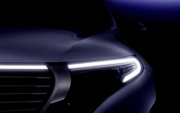Кроссовер Mercedes-Benz EQC показали в новом видео