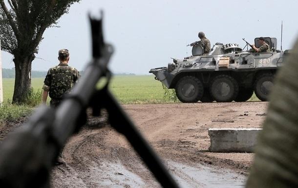 Cепаратисти стягують на передову артилерію - штаб