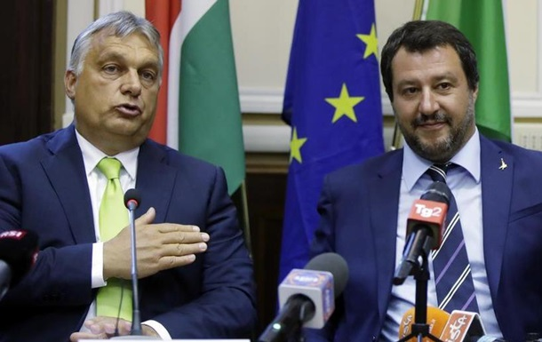Орбан та Сальвіні прагнуть створити союз противників міграції