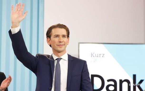 Канцлер Австрии посетит Киев на следующей неделе