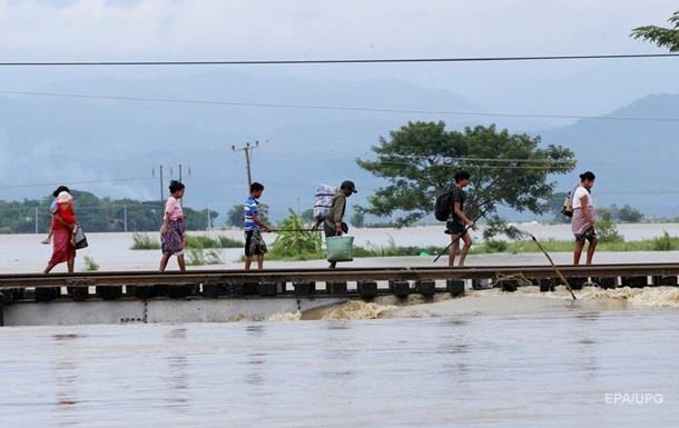 У М янмі затопило 85 сіл через прорив греблі