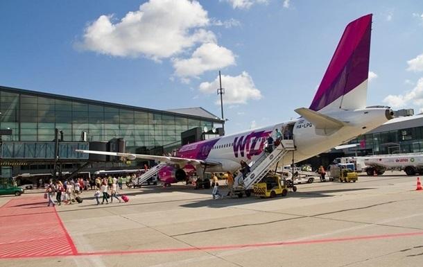 WizzAir додав ще п ять нових напрямків з України