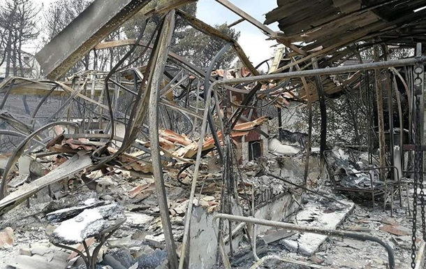 У Греції зростає кількість жертв лісових пожеж