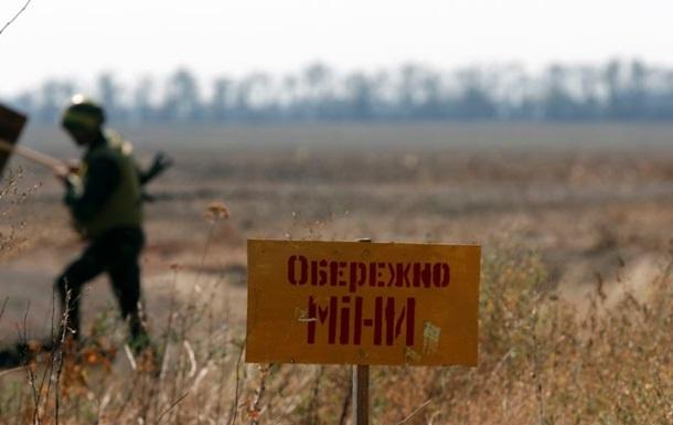 На Донбасі від мін постраждали 1858 осіб - Міноборони