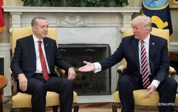 Трамп розчарувався в Ердогані