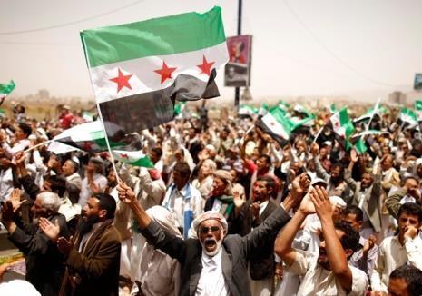 Асад начал кидаться камнями