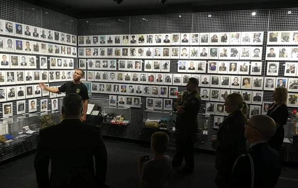 Делегація НАТО відвідала музей АТО в Дніпрі