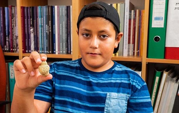 Ізраїльський хлопчик знайшов рідкісну давню фігурку богині