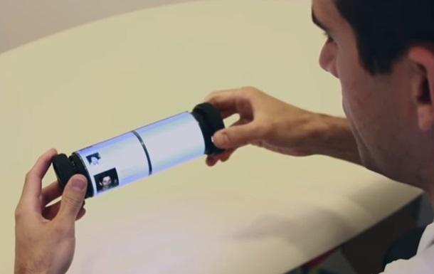 Канадцы представили гибкий сенсорный экран