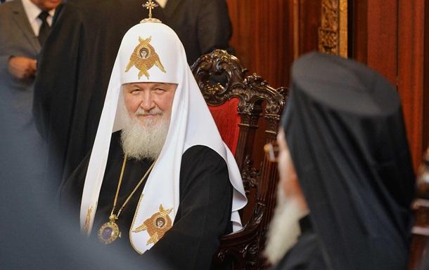 Глава РПЦ не став розголошувати бесіду з Варфоломієм
