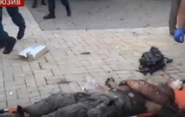 Появилось видео с места взрыва Захарченко