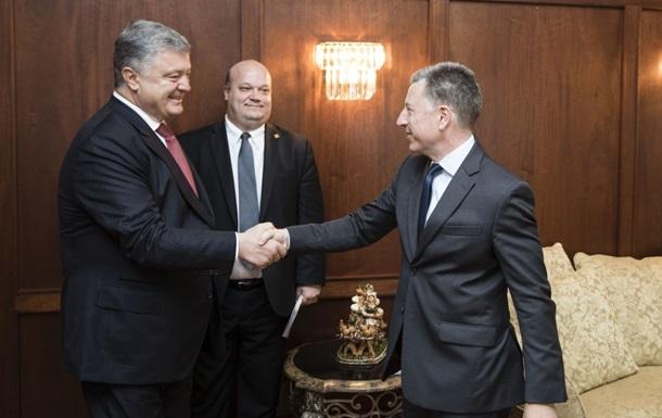Порошенко і Волкер обговорили деокупацію Донбасу