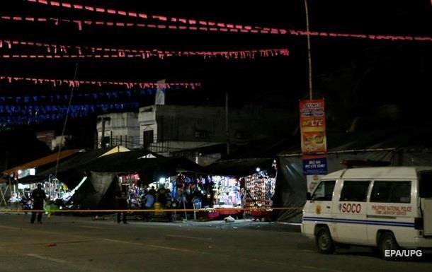 На Філіппінах стався другий за тиждень вибух: 14 постраждалих