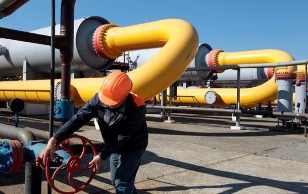 Запасы газа вукраинских хранилищах достигли 14,7 млрд кубов