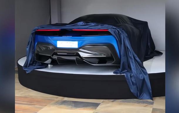 Электрокар Pininfarina частично показали на видео