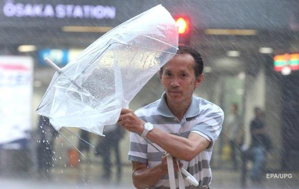 Японію накрив найпотужніший за 25 років тайфун