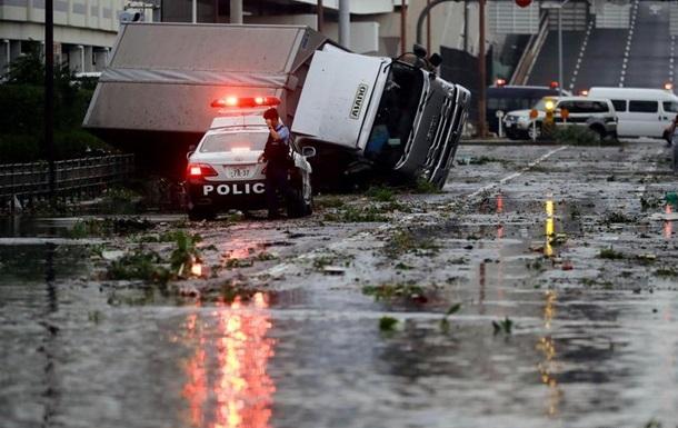 Потужний тайфун в Японії: щонайменше дев ять загиблих