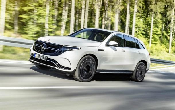 Рассекречен первый электрокроссовер Mercedes-Benz