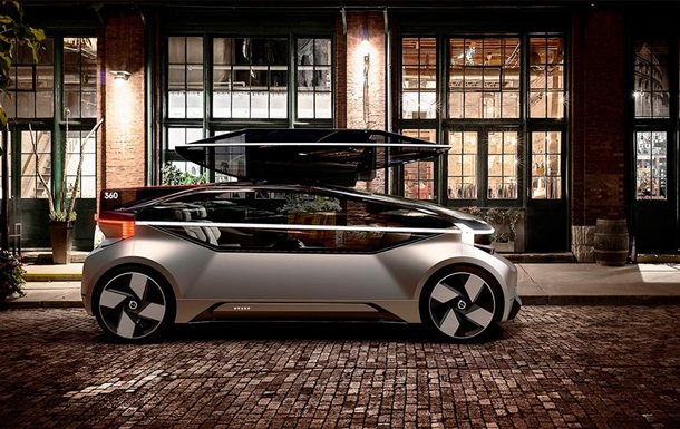 Volvo представила автомобіль без керма і педалей