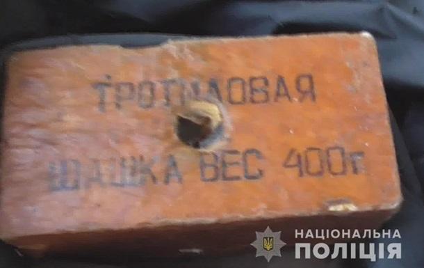 В Одесі затримали чоловіка з вибухівкою