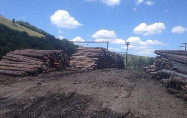 Рада разрешила вывозить дрова