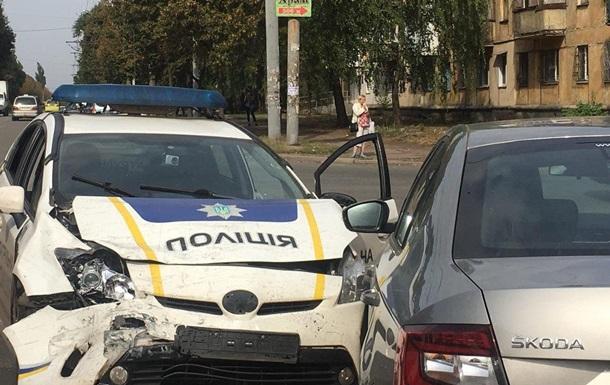 У Кривому Розі сталася ДТП за участю поліцейських
