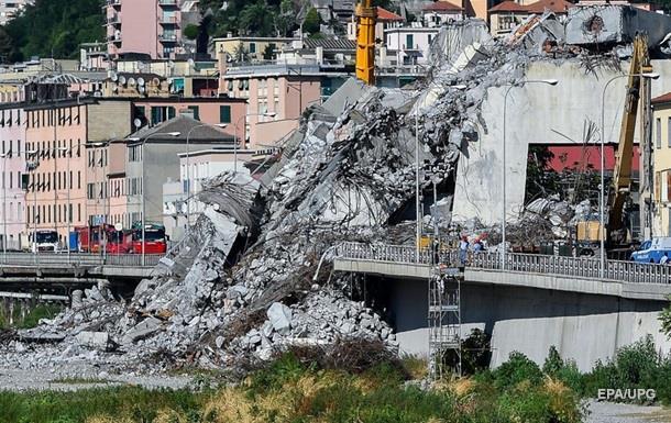 Трагедия в Генуе: в списке подозреваемых 20 человек