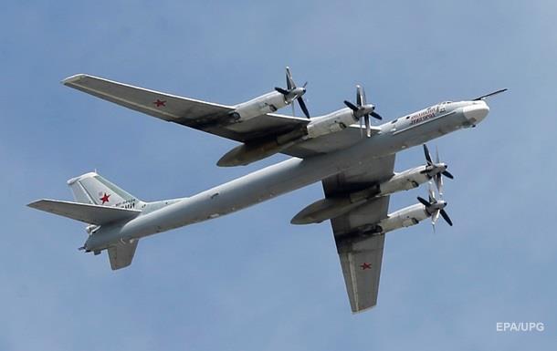 Винищувачі США перехопили два Ту-95 біля Аляски