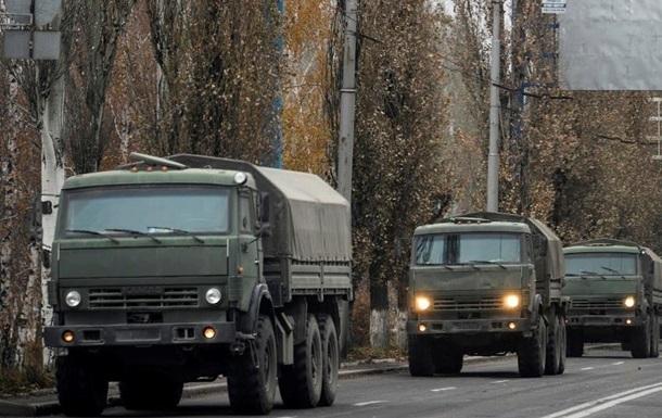 ОБСЄ помітили колону вантажівок біля кордону з РФ