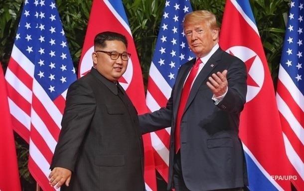 Трамп закликав Кім Чен Ина  не поспішати  з денуклеаризацією