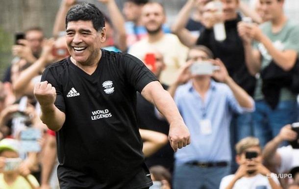 Марадона став тренером мексиканського клубу
