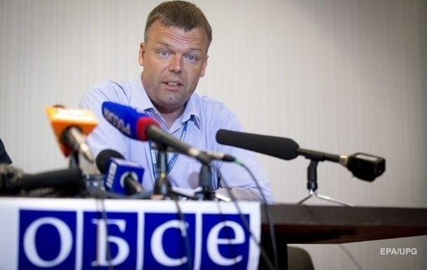Порушень на Донбасі менше на 60% - ОБСЄ