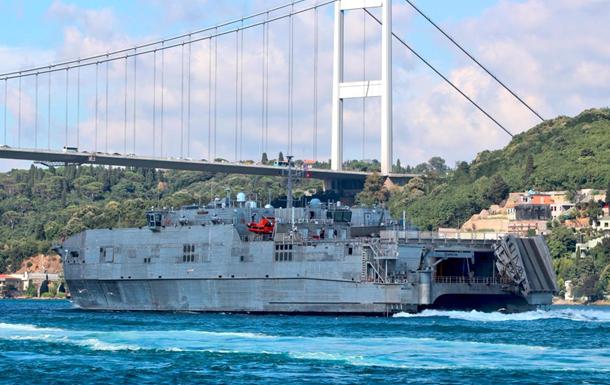 Уникальный корабль США покинул Черное море