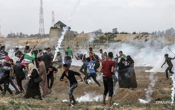 Столкновения на границе сектора Газа: погиб подросток, сотня раненых