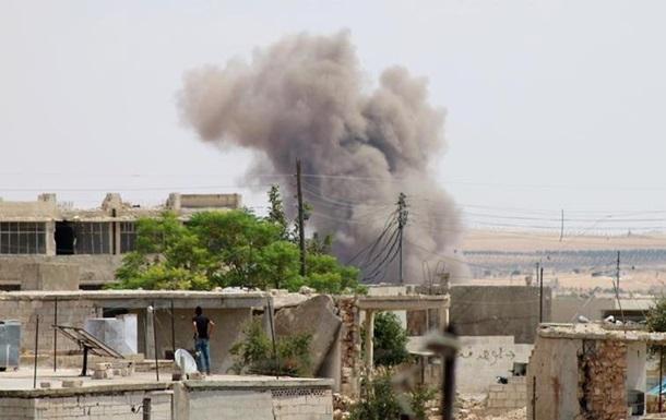 Сирійська і російська авіації бомбили Ідліб