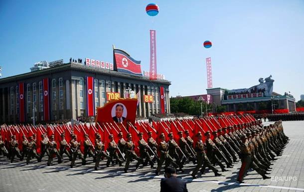 У Пхеньяні відбувся військовий парад