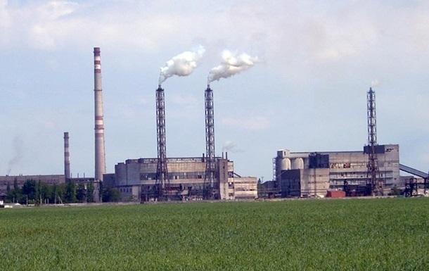 Завод Кримський титан повністю зупинений