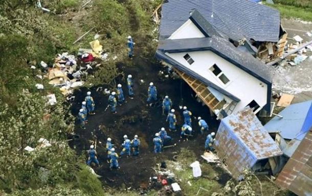 Землетрус у Японії: кількість жертв зросла до 42