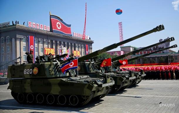 Трамп залишився задоволений парадом у КНДР