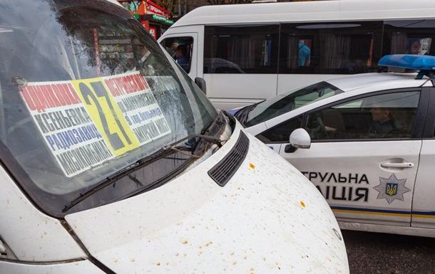 В Днепре мужчина избил полицейского в маршрутке