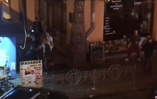 В Киеве произошла массовая драка с поножовщиной