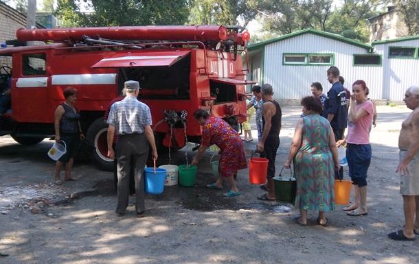 В Авдіївці почали підвезення води