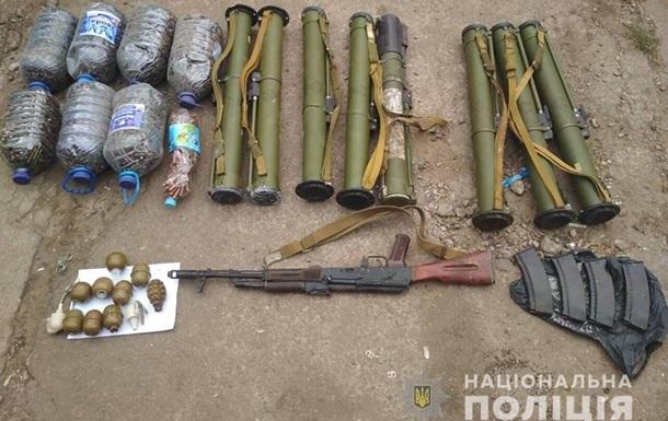 Под Днепром обнаружили тайник с гранатометами