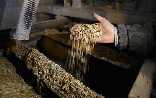 Експорт зерна з України впав вперше за п ять років